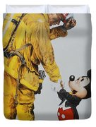 Mickey And The Bravest Duvet Cover