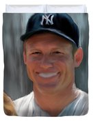 Mickey Mantle Duvet Cover