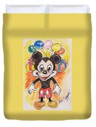 Mickey Mouse 90th Birthday Celebration Duvet Cover