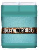 Mickey Mouse Blvd Duvet Cover