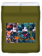 Mickey Mouse Vs. Minnie Mouse Stage On Duvet Cover