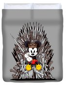 Mickey Thrones Duvet Cover