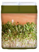 Micro Green Duvet Cover