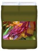 Micro Herbs Duvet Cover