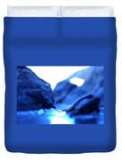 Micro Ice Canyon Duvet Cover