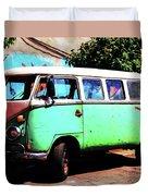 Microbus Duvet Cover