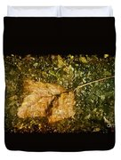 Microcosm Of Fall Duvet Cover