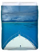 Micronesia, Boat Bow Duvet Cover