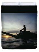 Micronesia, Saipan Duvet Cover