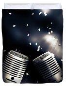 Microphone Club Duvet Cover