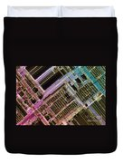 Microprocessors Duvet Cover