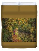 Mid Autumn On The Grand Union No 2 Duvet Cover