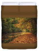 Mid Autumn On The Grand Union No 4 Duvet Cover