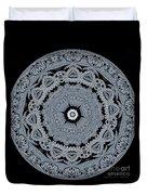 Mid Night Kaleidoscope Duvet Cover