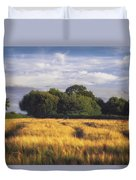 Mid Summer Cereal Field Duvet Cover