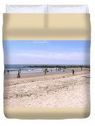 Midday At Venice Beach Duvet Cover