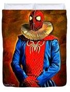 Middle Ages Spider Man Duvet Cover