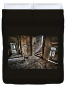 Middle Floor Seating Duvet Cover by Nathan Wright