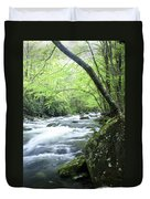 Middle Fork River Duvet Cover