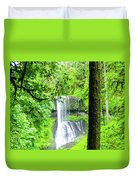 Middle North Falls 5 Duvet Cover