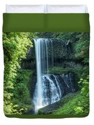 Middle North Falls Duvet Cover