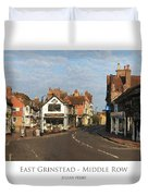 Middle Row East Grinstead Duvet Cover