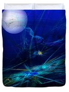 Midnight Abstract Duvet Cover