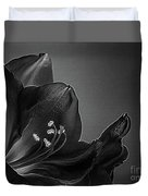 Midnight Blue Amy Bw Duvet Cover