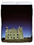Midnight Blue At Leamanch Castle The Gateway To The Burren Duvet Cover
