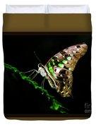Midnight Butterfly Duvet Cover