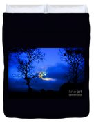 Midnight Clouds Duvet Cover
