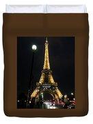 Midnight In Paris Duvet Cover