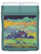 Midnight Prairie Dream Duvet Cover
