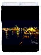 Midnight Sail Duvet Cover