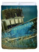 Midnight Shipwreck Duvet Cover