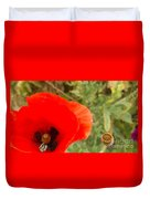 Midsummer Poppy Duvet Cover