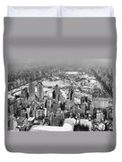 Midtown And Central Park View Duvet Cover