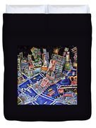 Midtown Magic Duvet Cover