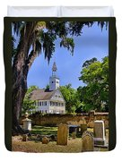 Midway Congregational Church Duvet Cover