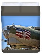 Mighty B-17 Fortress Duvet Cover