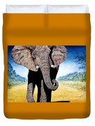 Mighty Elephant Duvet Cover