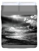 Catching The Light Of A Dream Duvet Cover