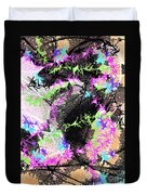 Mighty Mouse - Abstract Duvet Cover