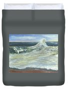 Mighty Nauset Wave Duvet Cover