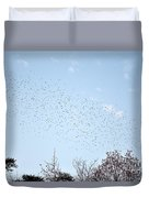 Migrating Birds Duvet Cover