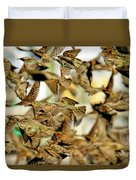 Migration Of The Starlings Duvet Cover