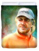 Miguel Angel Jimenez Duvet Cover