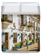Mijas - Costa Del Sol   Spain Duvet Cover