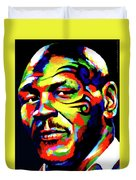 Mike Tyson Abstract Duvet Cover