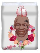 Mike Tyson Inspired Valentines Happy Valentine'th Day  Duvet Cover